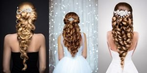 TOP 100 Attractive Hair Styles For Girls For Wedding